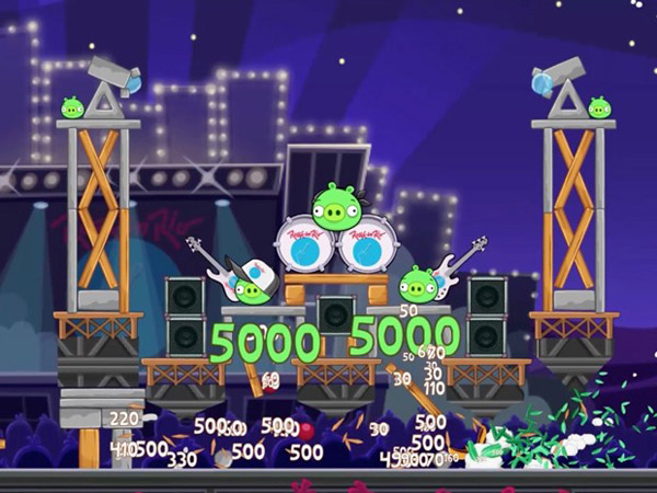 Angry Birds Rock In Rio