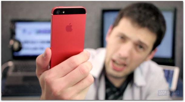 Backplate vermelho