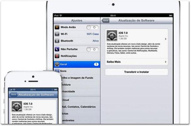 OTA iOS 7