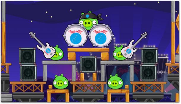 Photo of Já está disponível o torneio 'Rock In Rio' no Angry Birds Friends