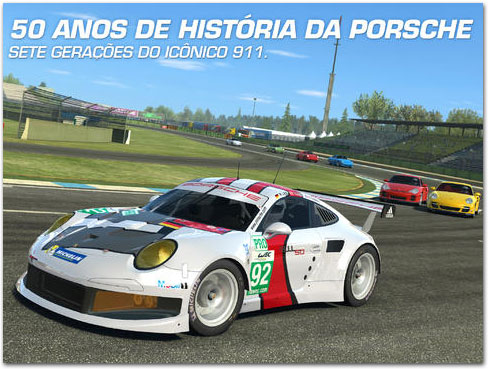 Photo of Real Racing 3 comemora os 50 anos do Porsche 911