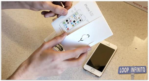 Photo of Confira o primeiro unboxing brasileiro do iPhone 5s