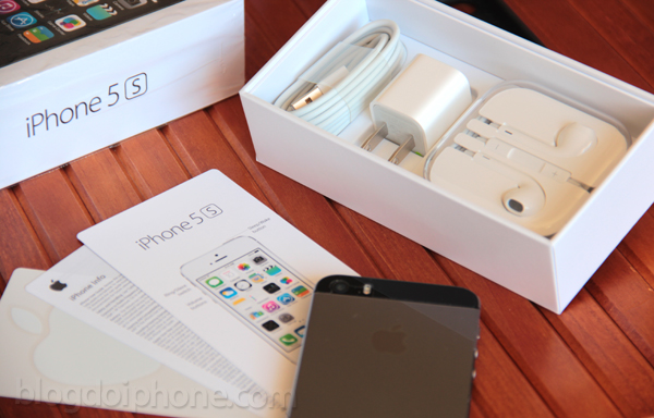 unboxing 5s