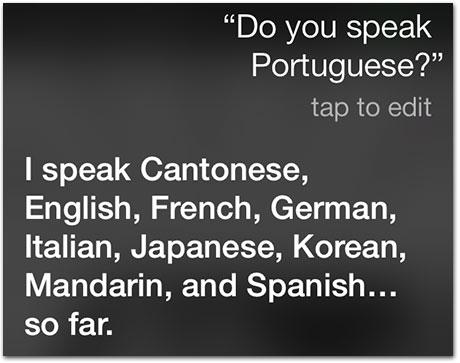 Línguas Siri