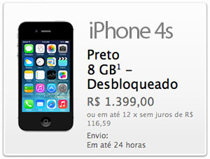 iPhone 4s na Apple Store
