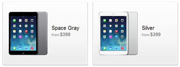 Cores iPad mini