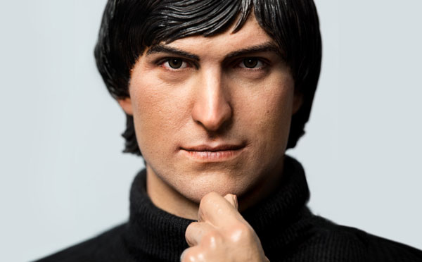 Action figure Steve Jobs jovem