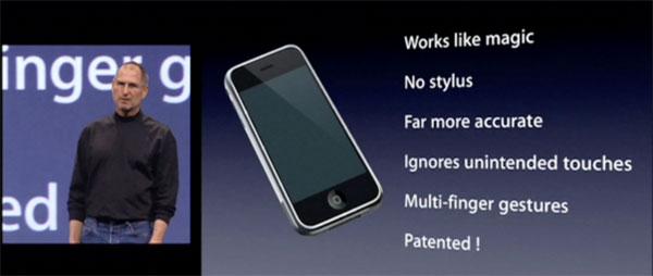 Apresentação do primeiro iPhone