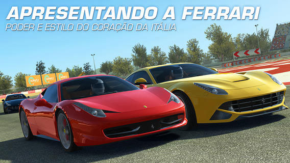 Ferraris no Real Racing 3