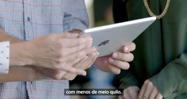 Photo of Confira o vídeo de introdução do iPad Air, legendado em português