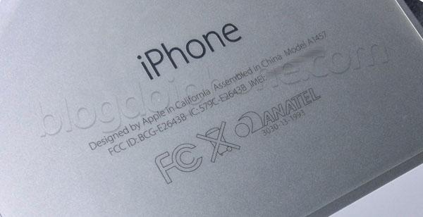 iPhone 5s - Selo da Anatel
