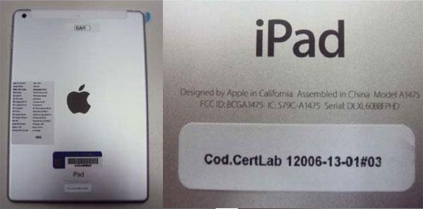 iPad na Anatel