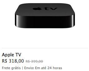 Apple TV com desconto