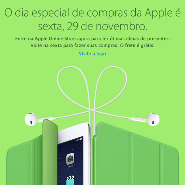 Dia Especial de Compras Apple