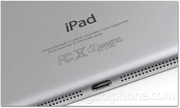 iPad Air Anatel