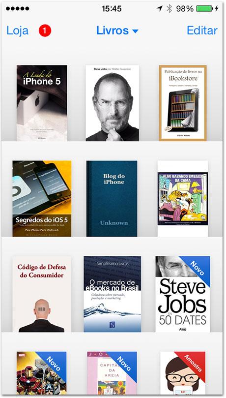 Novo iBooks