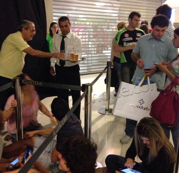 Lançamento do iPhone 5s no Brasil