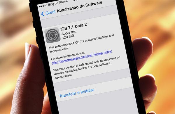 Beta 2 iOS 7.1