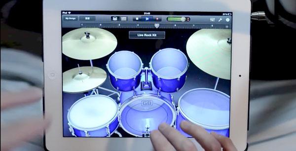 Photo of [curiosidade] Um solo de bateria com o GarageBand no iPad