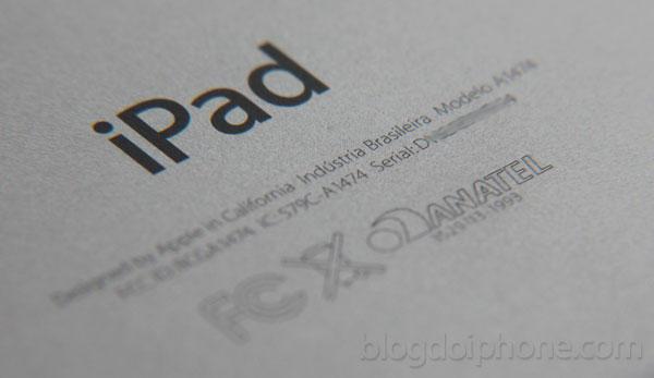 iPad Air brasileiro