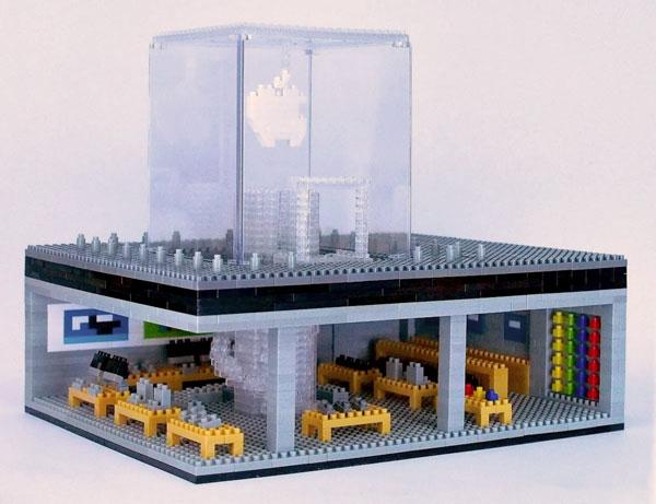 Photo of [curiosidade] Apple Store da 5ª Avenida feita toda em Lego