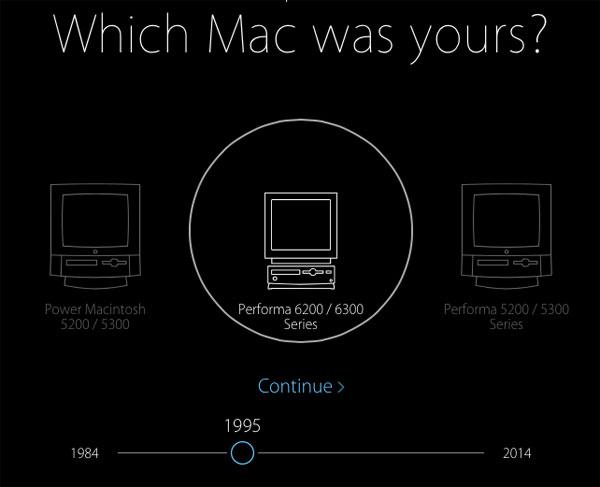 Primeiro Mac