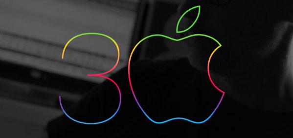 Logo 30 anos Mac