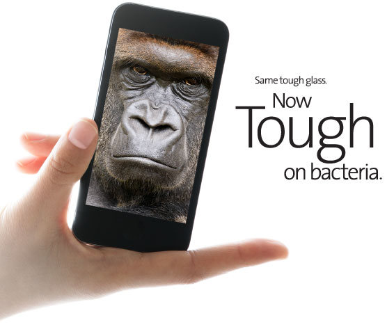 Corning Antimicrobial Gorilla Glass