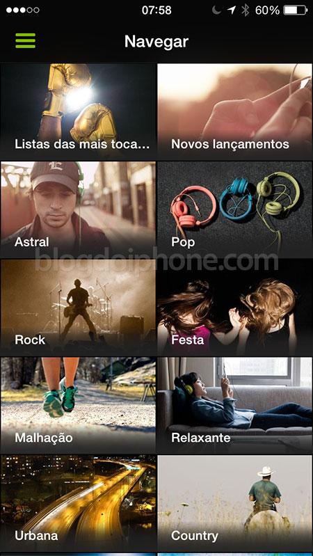 Spotify Estilos