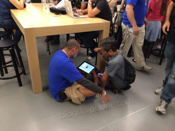 Imagem da semana: o diferencial de atendimento da Apple