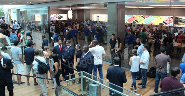 Photo of Hoje aconteceu o maior evento já feito pela Apple no Brasil