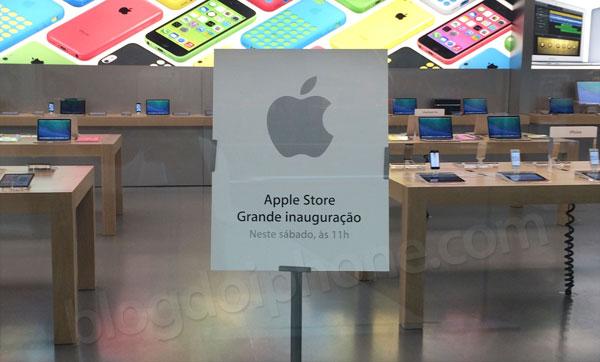 Inauguração Apple Store