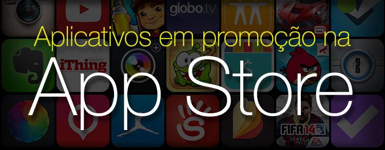 Aplicativos em promoção