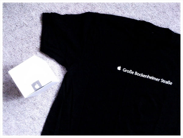 Camiseta da Apple