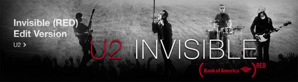 Photo of Baixe de graça a nova música do U2, 'Invisible', na iTunes Store, mas seja rápido
