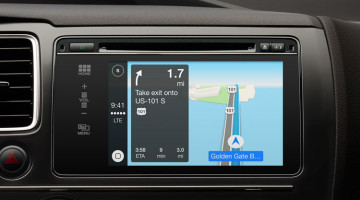 CarPlay GPS
