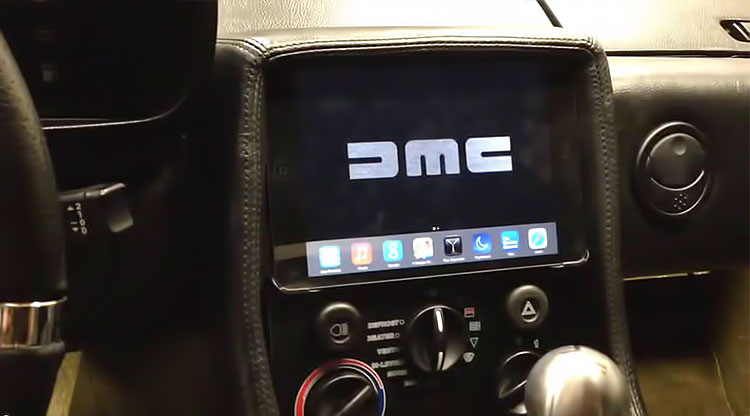 DeLorean iPad