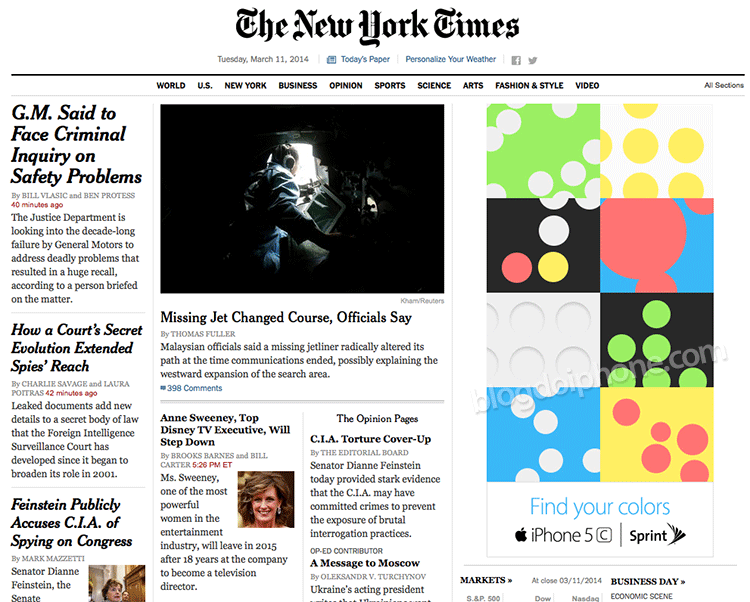 New York Times 5c