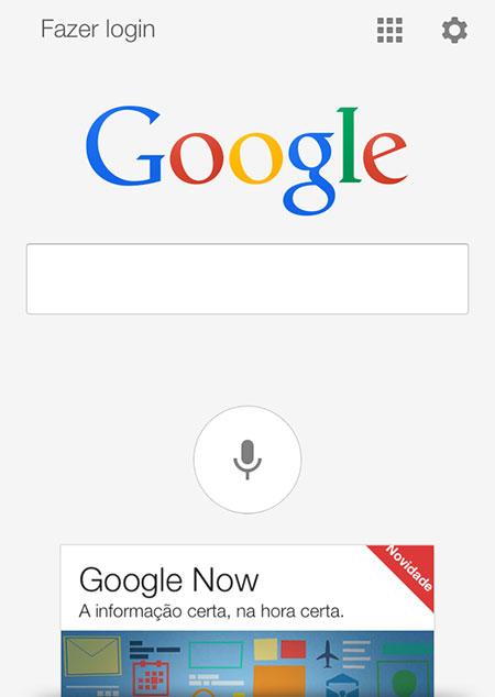Pesquisa do Google
