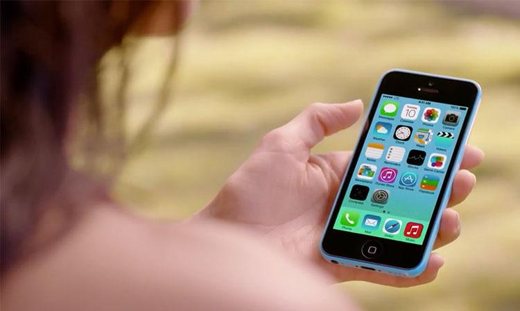 iOS 7 - iPhone 5c