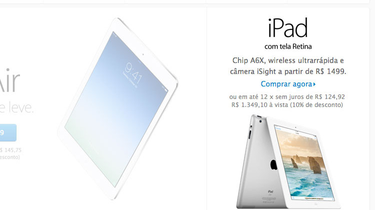 iPad 4 na Apple Store