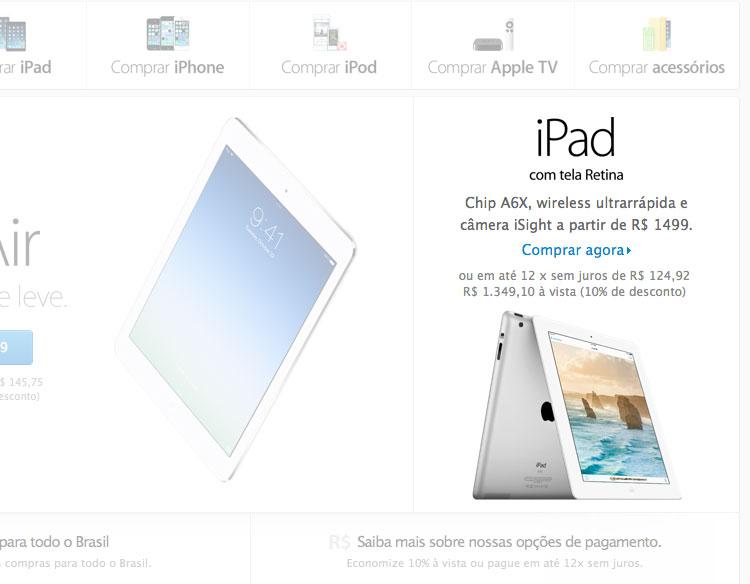Photo of Apple volta a vender o iPad 4 e abandona de vez o iPad 2