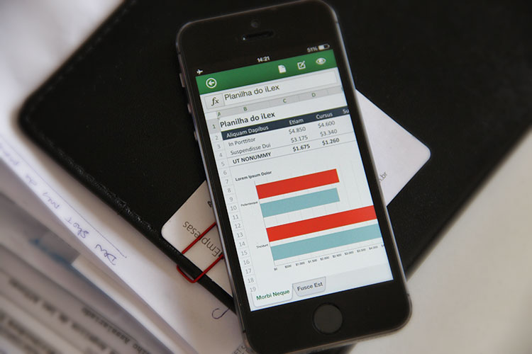 MS Office para iPhone