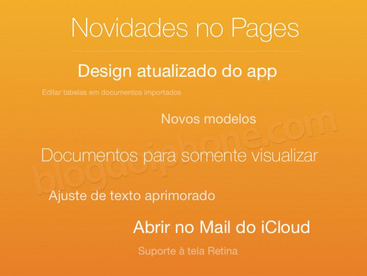 Photo of Apple atualiza seu pacote iWork para iOS e iCloud, com melhorias