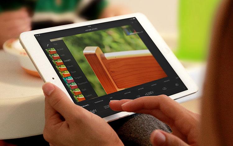 Adobe Lightroom para iPad