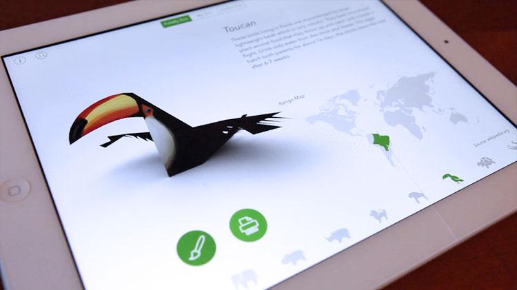 Photo of Foldify Zoo permite que suas crianças montem animais em papel