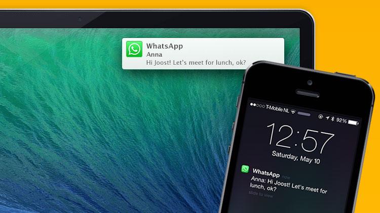 Photo of App permite receber notificações do iPhone também no Mac