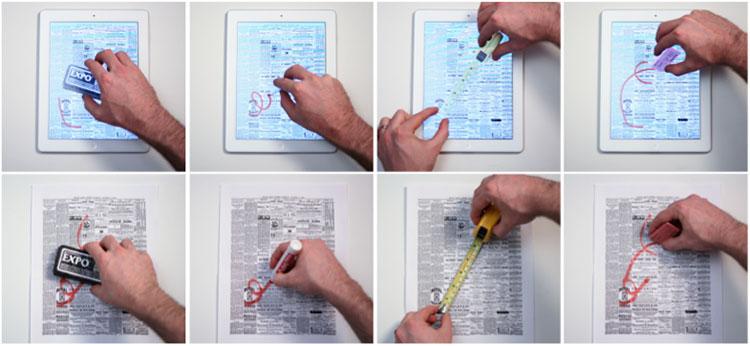 Photo of Designer estuda formas de interação com sistemas multitoque usando conceitos velhos