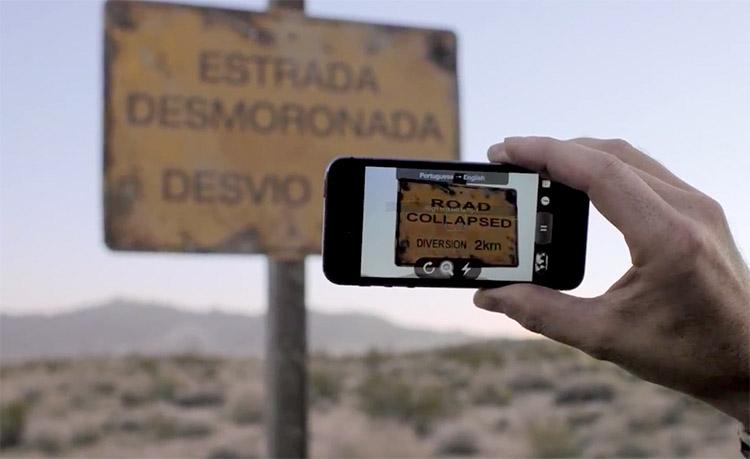 Photo of Aplicativo Google Tradutor inclui tradução de placas em tempo real