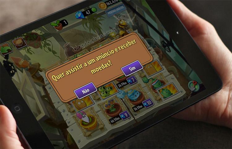 Publicidade nos apps
